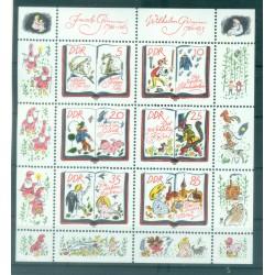 Germany - GDR 1985 - Y & T n. 2610/15 - Grimm Brothers (Michel n. 2987/92)