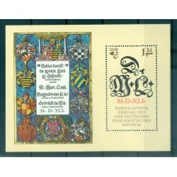 Allemagne - RDA 1983 - Y & T feuillet n. 71 - Martin Luther (Michel feuillet n. 73)