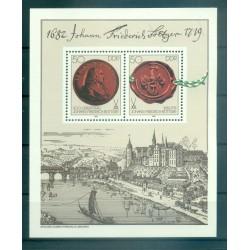 Allemagne - RDA 1982 - Y & T feuillet n. 63 - Johann Friedrich Böttger (Michel feuillet n. 65)