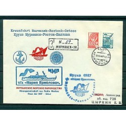 USSR 1987 - Cover Maria Yermolova passenger ship