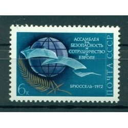 USSR 1972 - Y & T n. 3844 - Assembly for Security and Cooperation in Europe