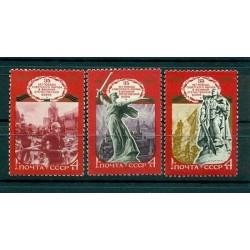 Russie - USSR 1980 - Michel n. 4945/47 - 35e anniversaire de la fin de la deuxiè