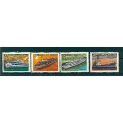 Russie - USSR 1981 - Michel n. 5088/91 - Les navires de la flotte intérieure sov