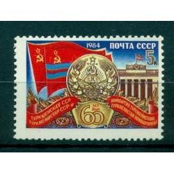 Russie - USSR 1984- Michel n. 5449 - 60 ans Turkménistan