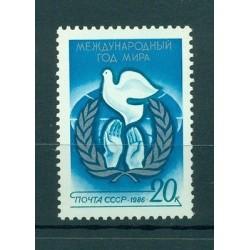 USSR 1986 - Y & T n. 5271 - International year of peace