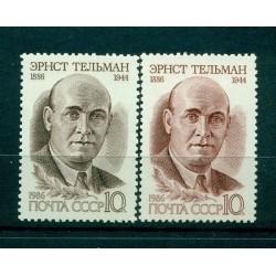Russie - USSR 1986 - Michel n. 5595/96 - Ernst Thalmann