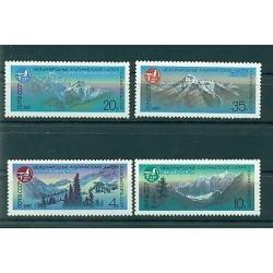 USSR 1987 - Y & T n. 5383/86 - Mountain Sports