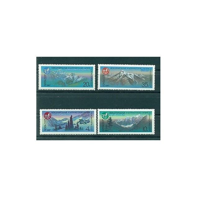 Russie - USSR 1987 - Michel n. 5685/88 - Montagnes (II)