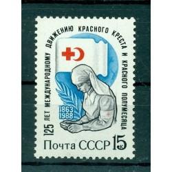 Russie - USSR 1988 - Michel n. 5805 - Croix-Rouge et  Croissant-Rouge