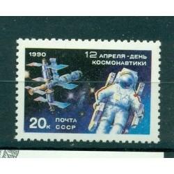 Russie - USSR 1990 - Michel n. 6073 - Journée de la cosmonautique