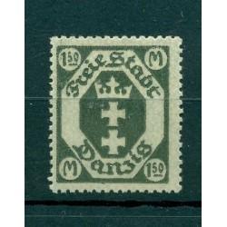 Ville libre de Dantzig - 1922 - Michel n. 103 - Timbre-poste ordinaire