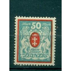 Ville libre de Dantzig - 1922 - Michel n. 127 Y - Timbre-poste ordinaire