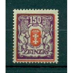 Ville libre de Dantzig - 1922 - Michel n. 129 Y - Timbre-poste ordinaire