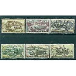 Czechoslovakia 1958 - Mi. n. 1109/1114 - Autos
