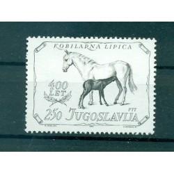 CHEVAUX - HORSES YUGOSLAVIA 1980