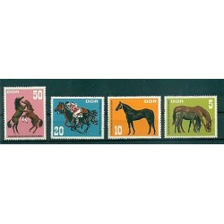 Germany DDR 1967 - Mi. n. 1302/1305 - Horses