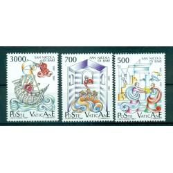 Vatican 1987 - Mi. n. 934/936 - Saint Nicolas de Bari