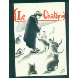 France - Carte postale - Illustrateur Seiler - LE CHAT(GRIN)