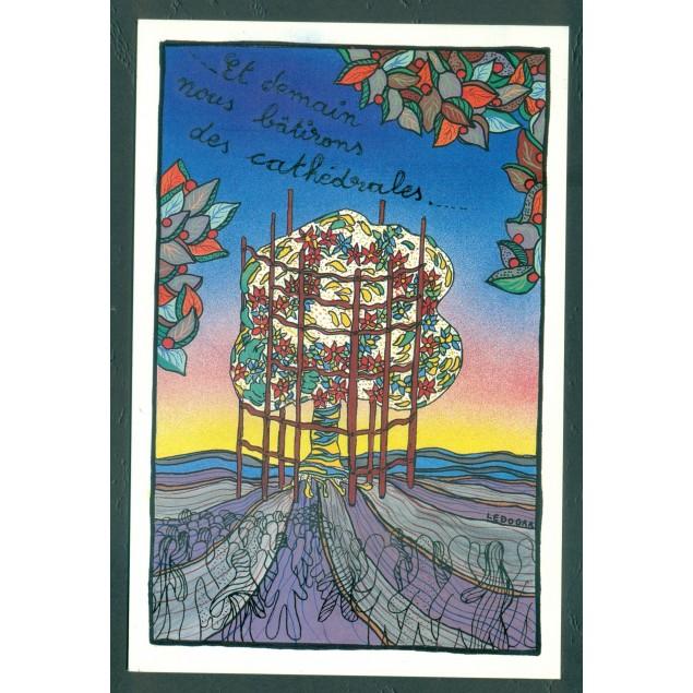 Carte Postale Russie 1966 - Illustrateur Iskrinskaya - Bonne année