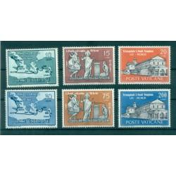 Vaticano 1961 - Mi. n. 369/374 - San Paolo