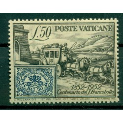 Vatican 1952 - Y & T  n. 173 - Papal States stamp centenary