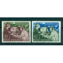 Vatican 1953 - Y & T  n. 189/90 - Saint  Bernard