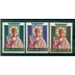 Vatican 1954 - Y & T  n. 200/02 - Pius X's canonization