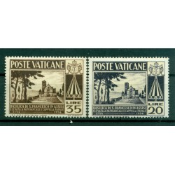 Vatican 1954 - Y & T  n. 203/04 - Basilica of Saint Francis of Assisi