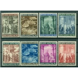 Vatican 1950 - Y & T  n. 150/57 - Jubilee Year