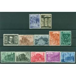 Vatican 1949 - Y & T  n. 140/49 + n. 11/12 express - Roman churches and basilicas
