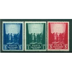 Vatican 1944 - Y & T. n. 109/11 - Au profit des oeuvres pour prisonniers de guerre