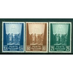 Vatican 1943 - Y & T. n. 102/04 - Au profit des oeuvres pour prisonniers de guerre