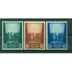 Vatican 1942 - Y & T. n. 95/97 - Au profit des oeuvres pour prisonniers de guerre