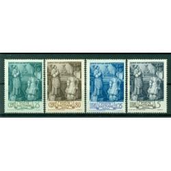 Vatican 1943 - Y & T. n. 98/101 - Pape Pius XII