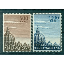 Vatican 1953 - Y & T  n. 22/23 air mail - Definitive