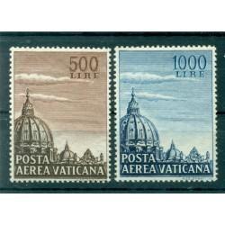 Vaticano 1953 - Y & T n. 22/23 posta aerea - Serie ordinaria